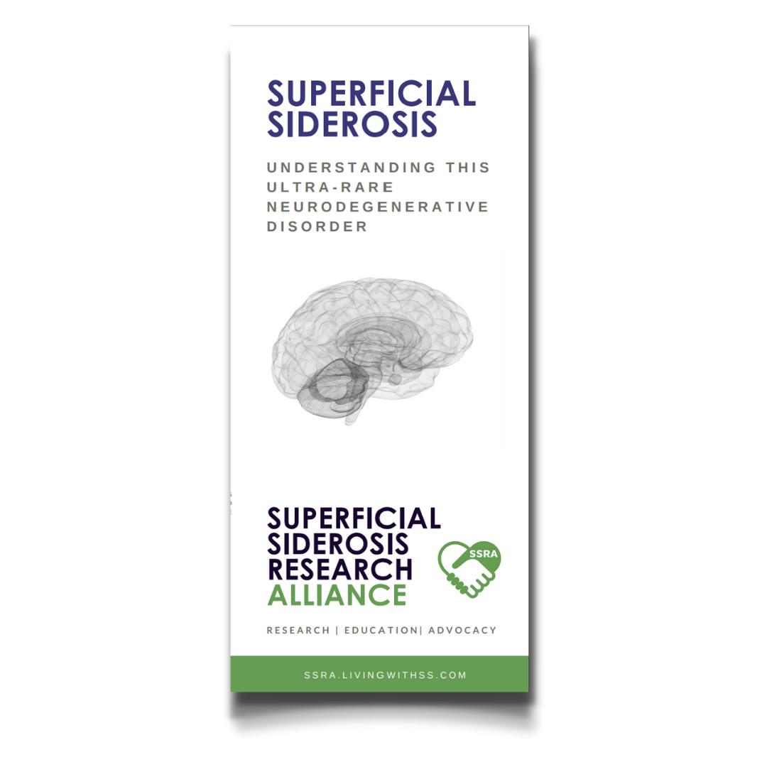 superficial siderosis information brochure